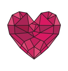 HEART SHAPE5 vector image