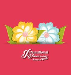 International womens day design vector