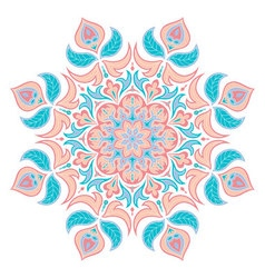 Oriental decorative elementIslam Arabic Indian vector image