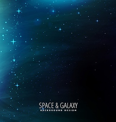Space background template vector