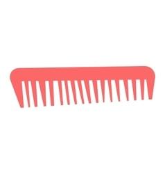 Professional comb barbershop vector