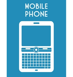Mobile phone design vector