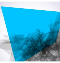 Abstract explore square mosaic EPS 8 vector image vector image