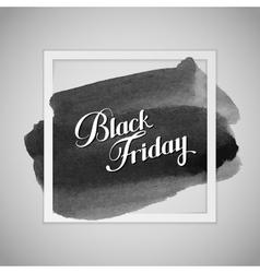 Black Friday Sale label vector image vector image