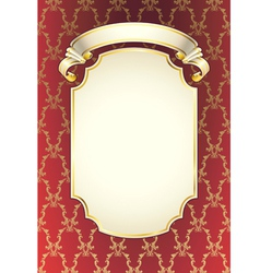 classic style background vector image