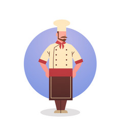Cook icon chef professional restaurant worker vector
