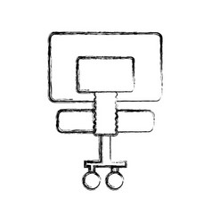office chair isolated vector image
