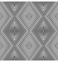 geometric rhombuses vector image
