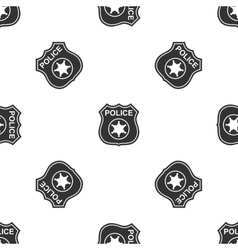 Police badges icon vector