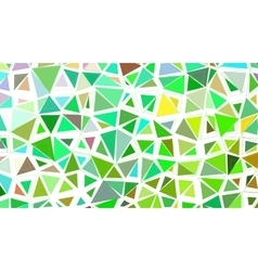 Abstract green grass fresh colorful vector image