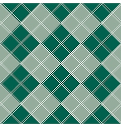 Blue Green Gray White Chess Board Background vector image