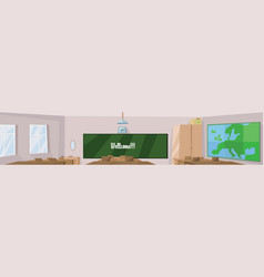 digital abstract digital classroom vector image