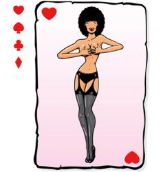 playing card vector image vector image