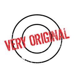 Very original rubber stamp vector