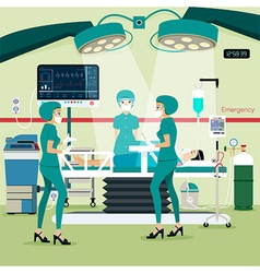 Operating room vector