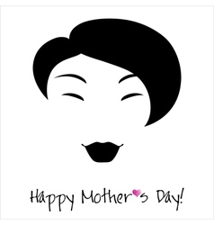 Happy mothers day background or card vector