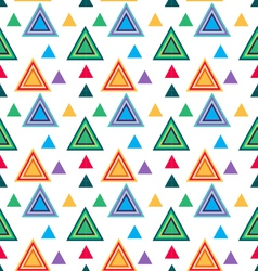 Seamless Triangle pattern Seamless vector image vector image