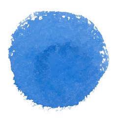 Abstract watercolor blue spot banner vector