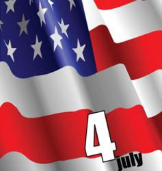 4th July vector image vector image