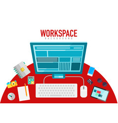 Workspace elements vector