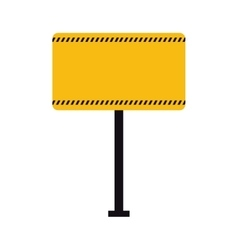 Road sign under construction repair icon vector