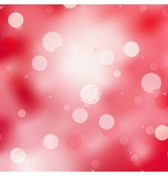Abstract red magic lights bokeh eps 8 vector
