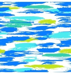 Pattern with brushstrokes and stripes vector