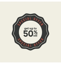 Sales label vector