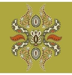 Beautiful vintage ornament vector image