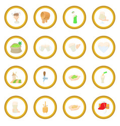 Beer icon circle vector