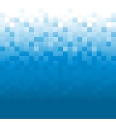 Blue pixel background vector