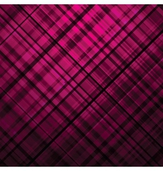 Purple Tartan background vector image vector image