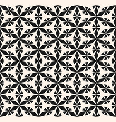 seamless pattern ornament geometric floral shapes vector image vector image