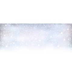 Abstract silver blue winter Christmas vector image