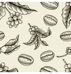Coffee - seamless pattern vector