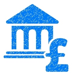 Museum pound payment grainy texture icon vector