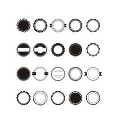 Retro vintage circle vector
