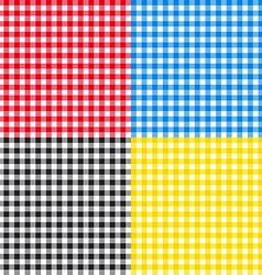 Table cloth seamless pattern vector