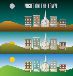 Town infographic 51 vector