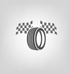 Tire shop logo vector