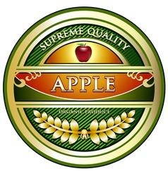 Apple Vintage Label vector image vector image