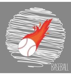Baseball sport vector