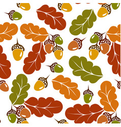 foliage pattern vector image