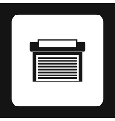Garage icon in simple style vector image vector image