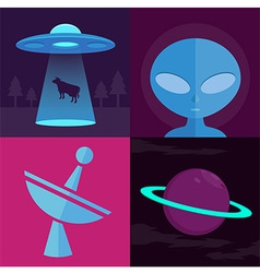 Alienufo vector