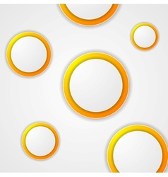 Abstract modern circles background vector