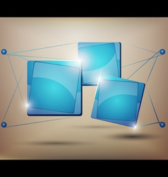 abstract Web element vector image