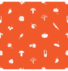 autumn pattern eps10 vector image