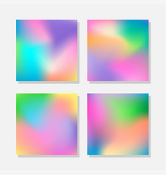Blurred abstract colorful backgrounds vector