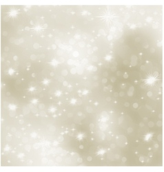 Christmas background with white snowflakes eps 8 vector
